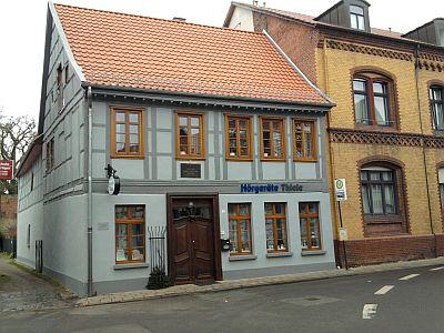 Salzwedel, Jahn-Haus (fast gleich neben dem Jenny-Marx-Haus)