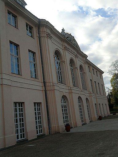 Berlin-Pankow, Schloss Schönhausen zur Gartenseite