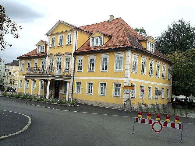 Coburg, Standesamt und ehemaliger Ex-Zarensitz
