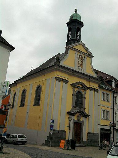 Marktredwitz, katholische Theresienkirche
