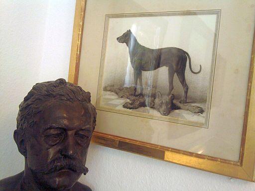 Friedrichsruh, im Bismarck-Museum