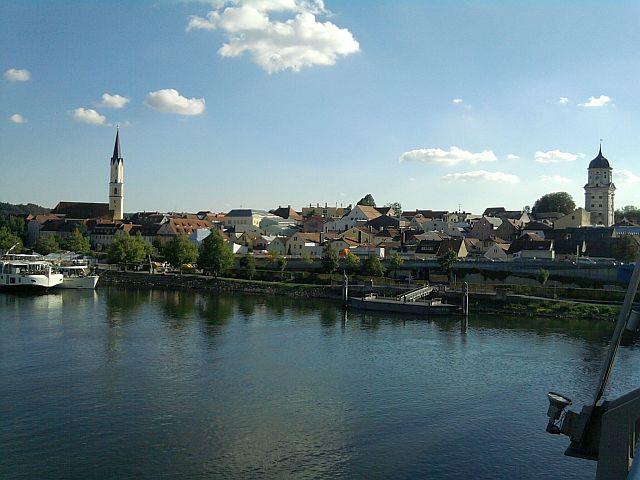 Vilshofen an der Donauseite