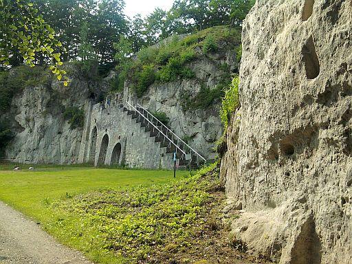 scharzfels, imposante ruine