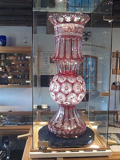Neustadt an der Waldnaab, Glas im Stadtmuseum
