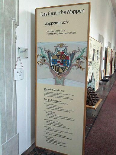 Neustadt an der Waldnaab, Lobkowitz-Ausstellung im Neuen Schloss