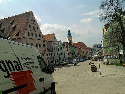 Neustadt an der Waldnaab, Stadtplatz