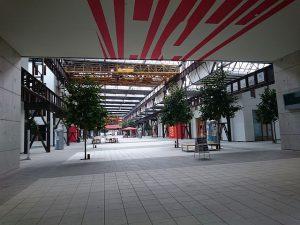 Lingen, Lokhalle und Hochschul-Campus