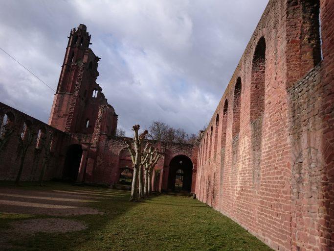 Bad Dürkheim, Ruine des burgartigen Klosters Limburg