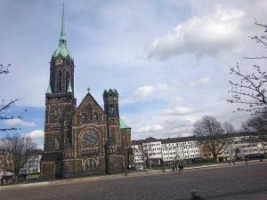 Kirche am Rheydter Marktplatz