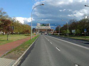Schwedt, breite Lindenallee