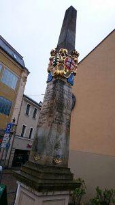 Reichenbach, kursächsische Postsäule