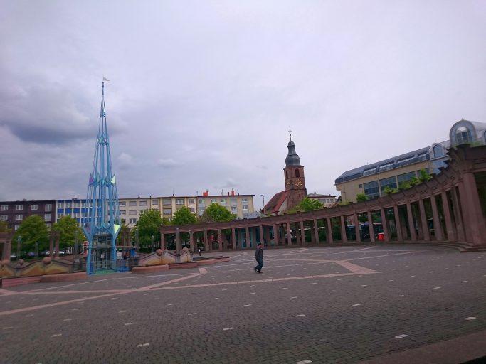 Pirmasens, Exe(rzierplatz)