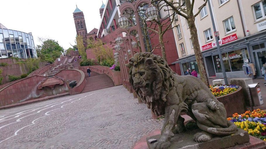 Pirmasens, Schlosstreppe