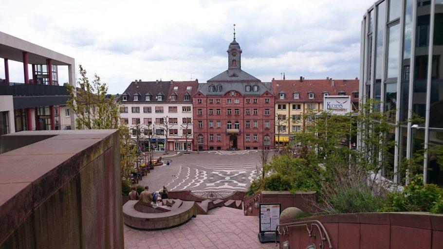 Pirmasens, altes Rathaus (nun Museum) am Schlossplatz
