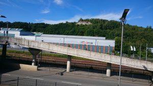 Wissen, Kulturwerk hinter Parkbahnhof-Auffahrt
