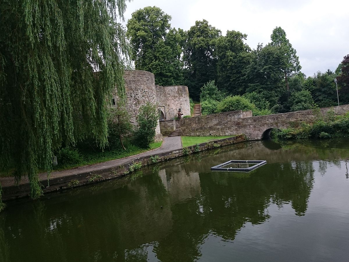 Coppenbrügge, was von der Wasserburg blieb