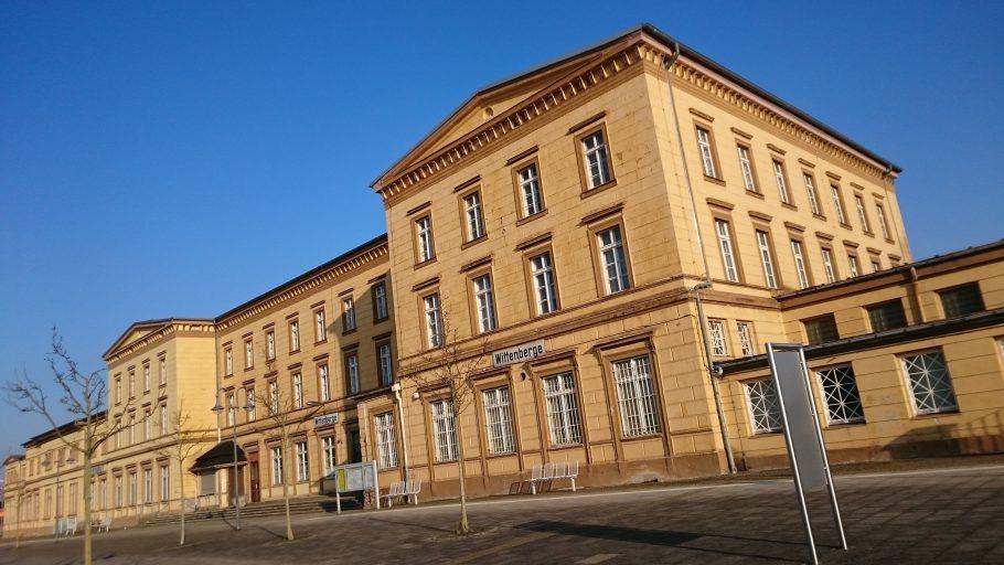 Wittenberge, Bahnhof (der größte zwischen Berlin und Hamburg)