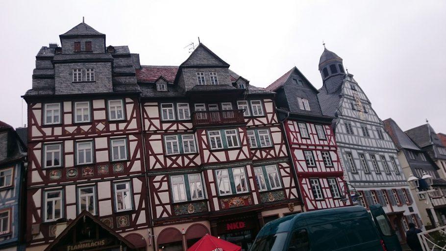 Butzbach, Fachwerk am Marktplatz