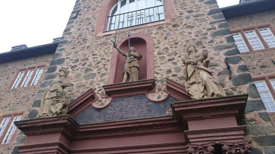 Butzbach, Renaissance-Portal am Landgrafenschloss