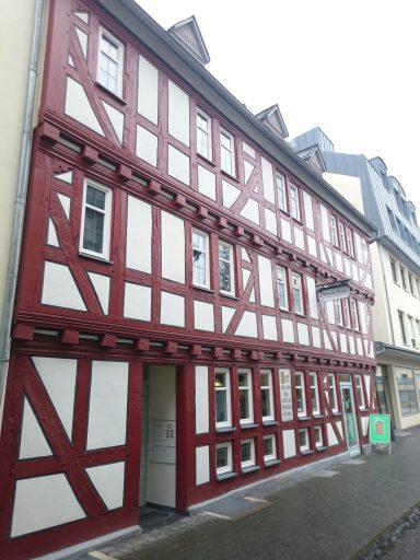 Butzbach, das Haus, in dem Friedrich Ludwig Weidig am längsten lebte