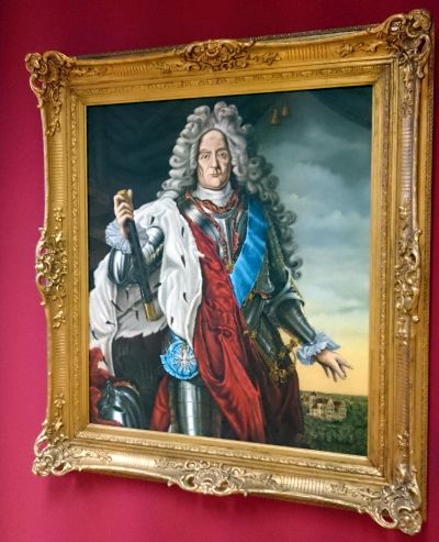 Spremberg, Heinrich von Sachsen-Merseburg-Spremberg Gemälde-von-Willy-Thor-Buder-1998-im Niederlausitz-Museum