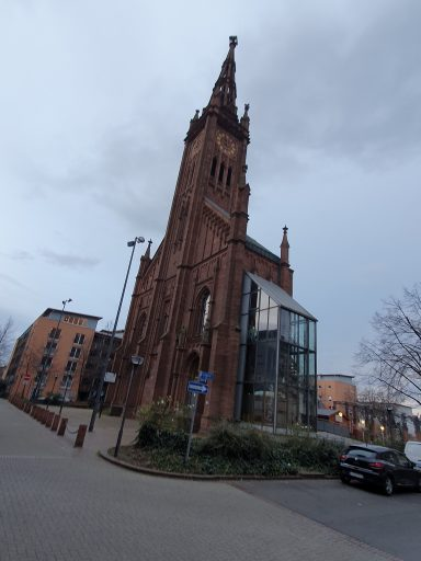 Ludwigshafen, Turm der Lutherkirche