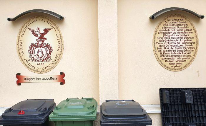 Schweinfurt, wo die Leopoldina 1652 gegründet wurde
