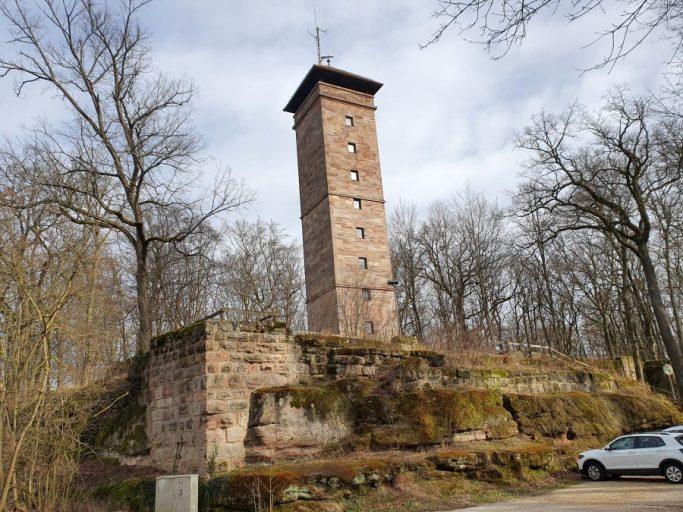 Zirndorf, Aussichtsturm an der Alten Veste