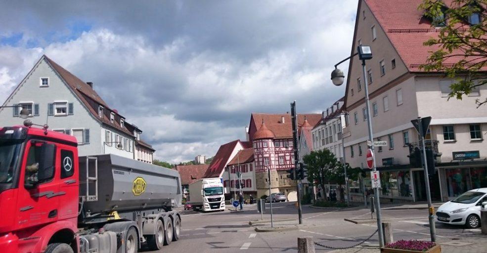 viel los in Gaildorf