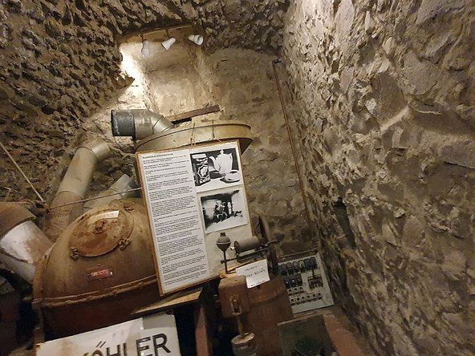 Lich, Kellergewölbe unterm Heimatmuseum